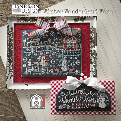 Hands on Designs - Winter Wonderland Farm