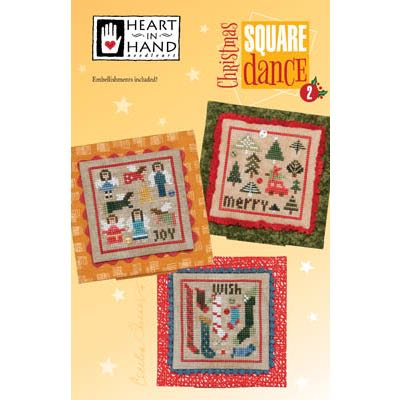 Heart in Hand Needleart - Christmas Square Dance 2