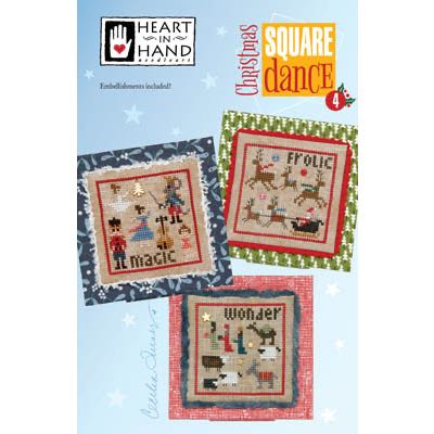 Heart in Hand Needleart - Christmas Square Dance 4