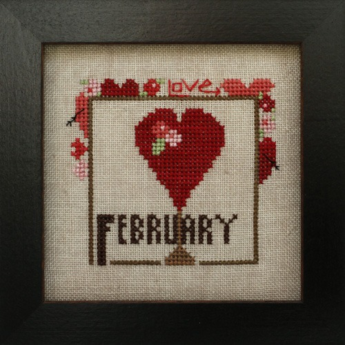 Heart in Hand Needleart - Joyful Journal - February