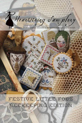 Heartstring Samplery - Festive Little Fobs - Beekeeping Edition