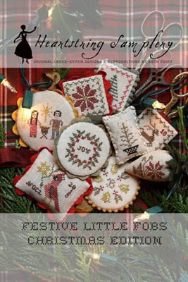 Heartstring Samplery - Festive Little Fobs - Christmas Edition