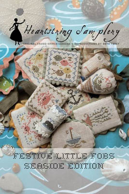Heartstring Samplery - Festive Little Fobs - Seaside Edition