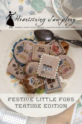 Heartstring Samplery - Festive Little Fobs - Teatime Edition