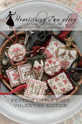 Heartstring Samplery - Festive Little Fobs - Valentine Edition