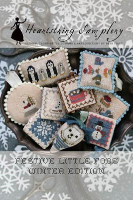 Heartstring Samplery - Festive Little Fobs - Winter Edition