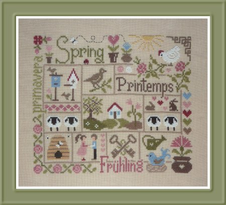 Jardin Prive - Sampler Printemps