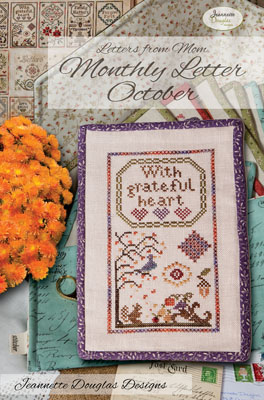 Jeannette Douglas Designs - Letters from Mom 3 - October