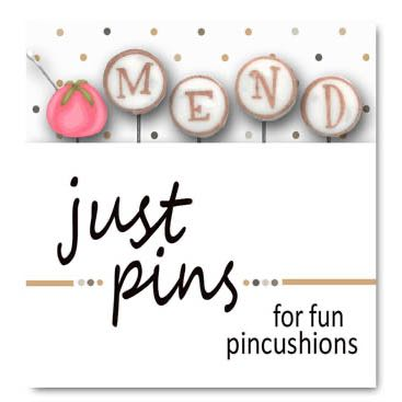 Just Another Button Company - Block Party - Mend Pins