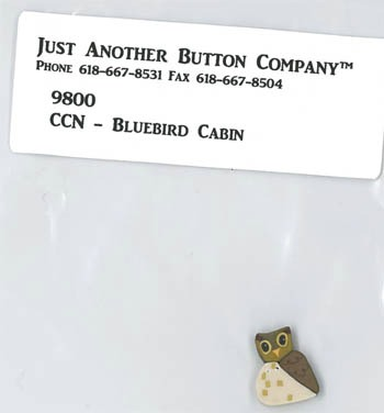 Just Another Button Company - Frosty Forest Part 5 - Bluebird Cabin button Pack