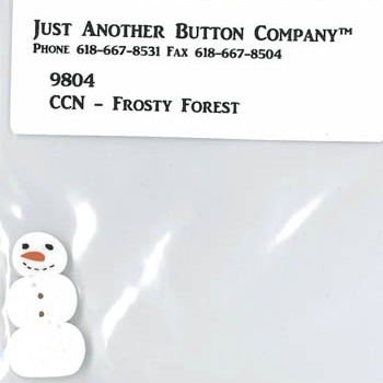 Just Another Button Company - Frosty Forest Part 9 - Frosty Forest button pack