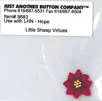 Just Another Button Company - Little Sheep Virtues #1 - Hope Button Pack