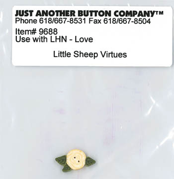 Just Another Button Company - Little Sheep Virtues #2 - Love Button Pack