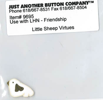 Just Another Button Company - Little Sheep Virtues #9 - Friendship Button Pack
