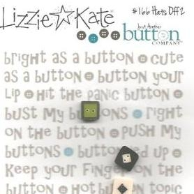 Lizzie Kate Hats Off to Halloween 2 Button Pack