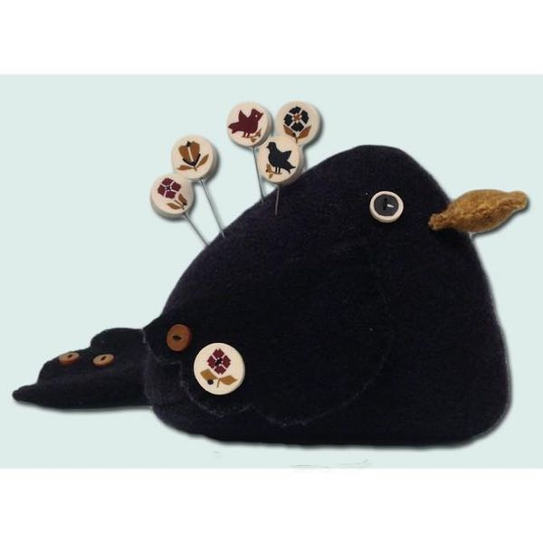 Just Another Button Company - Pin Feathers Pincushion Kit