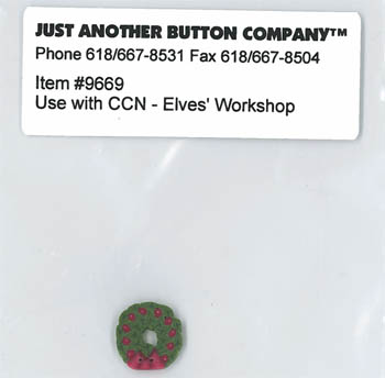 Just Another Button Company - Santa's Village #11 - Elves' Workshop Button Pack