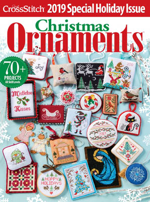 Just Cross Stitch Magazine - Christmas Ornaments 2019