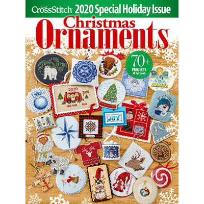 Just Cross Stitch Magazine - Christmas Ornaments 2020