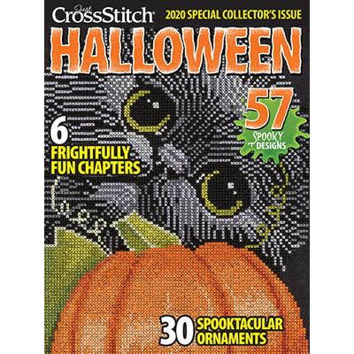Just Cross Stitch Magazine - Halloween Collector's Issue 2020