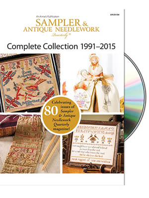 Just Cross Stitch Magazine - Sampler and Antique Needlework Quarterly 1991-2015 DVD