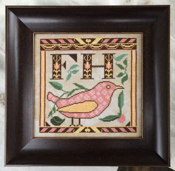 Kathy Barrick - Early Fraktur Drawing
