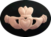 VBS Friendship Claddagh Needleminder