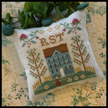 Little House Needleworks - ABC Samplers #7 - RST