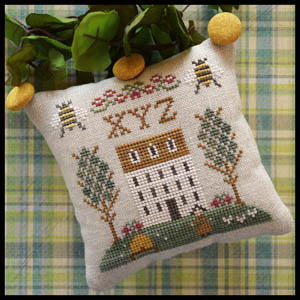 Little House Needleworks - ABC Samplers #9 - XYZ