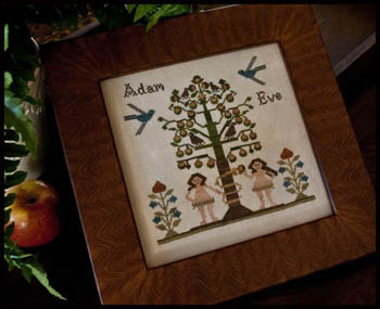 Little House Needleworks - Adam and Eve