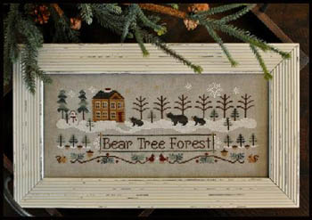 Little House Needleworks - Bear Tree Forest