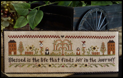 Little House Needleworks - Blessed is the Life
