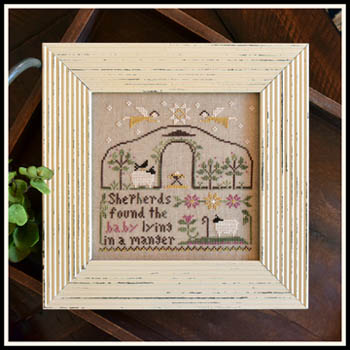Little House Needleworks - Born in a Manger
