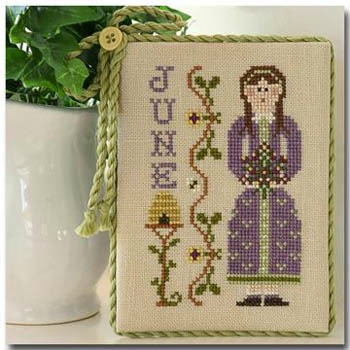Little House Needleworks - Calendar Girls - June