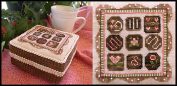 Little House Needleworks - Chocolate Box Sampler