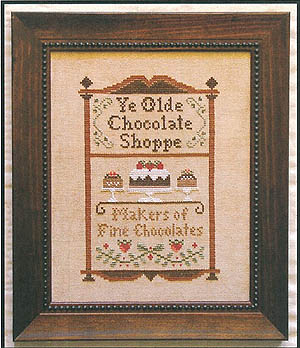 Little House Needleworks - Chocolate Shoppe