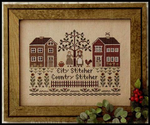Little House Needleworks - City Stitcher, Country Stitcher