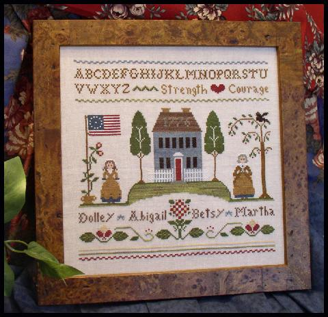 Little House Needleworks - Colonial Women