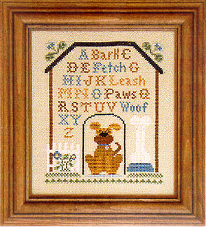 Little House Needleworks - Dog House Sampler