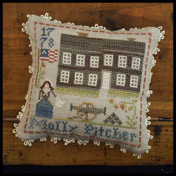 Little House Needleworks - Early Americans 9 - Molly Pitcher