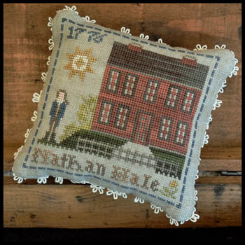 Little House Needleworks - Early Americans - Nathan Hale