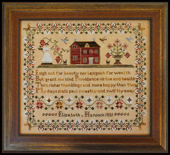 Little House Needleworks - Elizabeth Hancock 1831