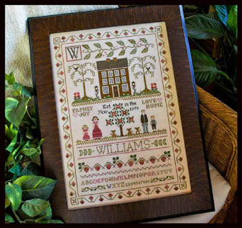 Little House Needleworks - Family Sampler