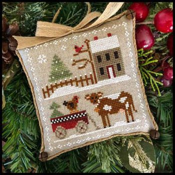 Little House Needleworks - Farmhouse Christmas 4 - Dairy Darlin'