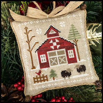 Little House Needleworks - Farmhouse Christmas 9 - Ba Ba Black Sheep