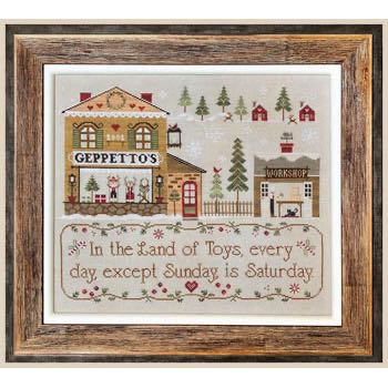 Little House Needleworks - Geppetto's