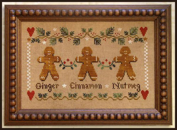 Little House Needleworks - Gingerbread Trio
