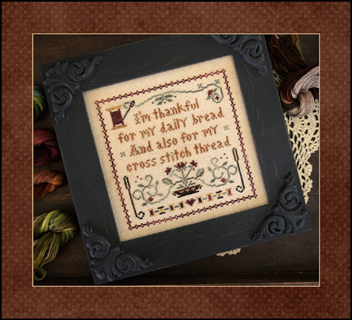 Little House Needleworks - Giving Thanks (with threads)