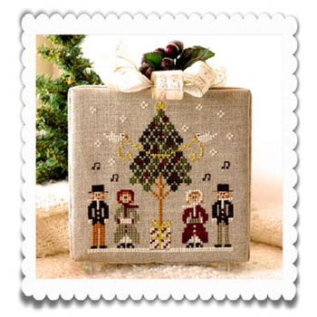 Little House Needleworks - Hometown Holiday - Caroling Quartet