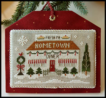 Little House Needleworks - Hometown Holiday - The Diner